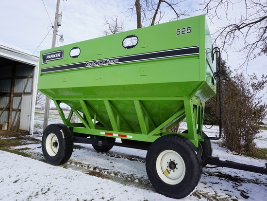 1996 PARKER 625 GRAIN CHARIOT GRAVITY WAGON