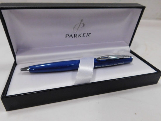 PARKER BALL POINT INK PEN - MERCER FOUNDATION FOR HEALTH