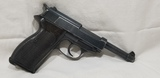 WALTHER P38 9MM AUTO PISTOL W/ WAFFEN PROOFS