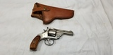 H&R 38CAL S&W 5 SHOT REVOLVER W/ HOLSTER