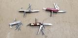 (3) MULTI TOOL FOLDING KNIVES