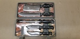 MEYERCO BOXED HUNTING KNIFE SET BY BLACKIE COLLINS