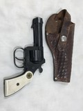 EIG .22 SHORT CAL 6 SHOT REVOLVER W/ LEATHER HOLSTER