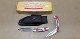 TIMBERWOLF TW260 2 KNIFE SET W/ SHEATH - NIB