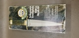 CVA TRAIL KNIVES MODEL KA904 ARKANSAS TOOTHPICK KIT KNIFE - NIB