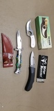 (3) VARIOUS COLLECTOR KNIVES