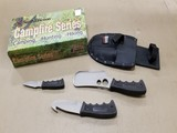 SMITH & WESSON CAMPFIRE SERIES BY TAYLOR CUTLERY 3 KNIFE SET - NIB