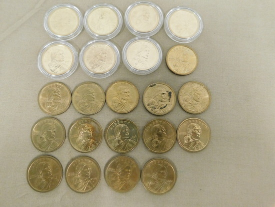 (22) SACAGAWEA DOLLARS