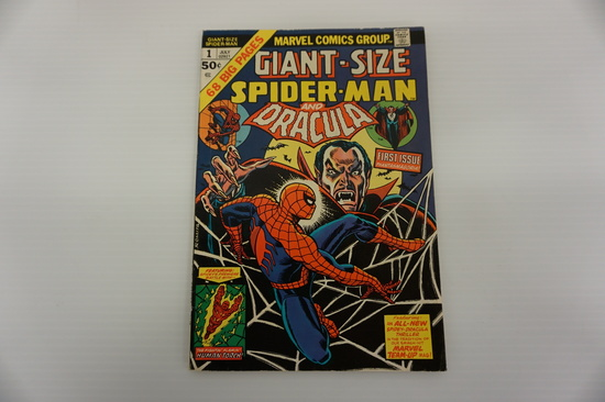 GIANT SIZE SPIDERMAN AND DRACULA #1
