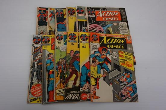 (12) ACTION COMICS (1971-1972)