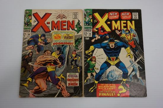 (2) X-MEN COMIC BOOKS (1968)