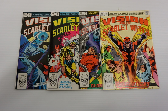 (4) VISION AND THE SCARLET WITCH LIMITED SERIES (1982)