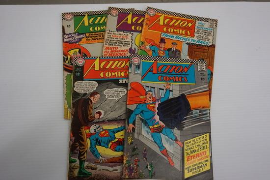 (5) ACTION COMICS
