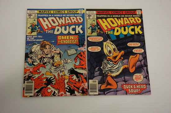 (2) HOWARD THE DUCK #12 AND #13 (KISS)