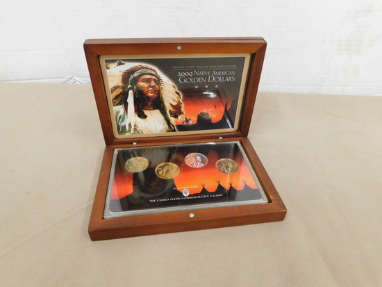 2009 NATIVE AMERICAN GOLDEN DOLLARS COIN SET