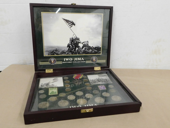 IWO JIMA HISTORIC COIN & STAMP COLLECTION