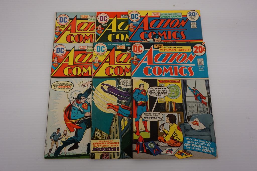 (6) ACTION COMICS (1973)