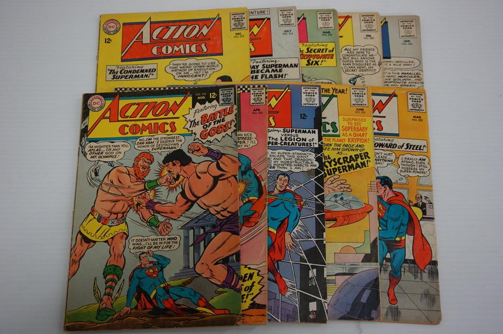 (10) ACTION COMICS