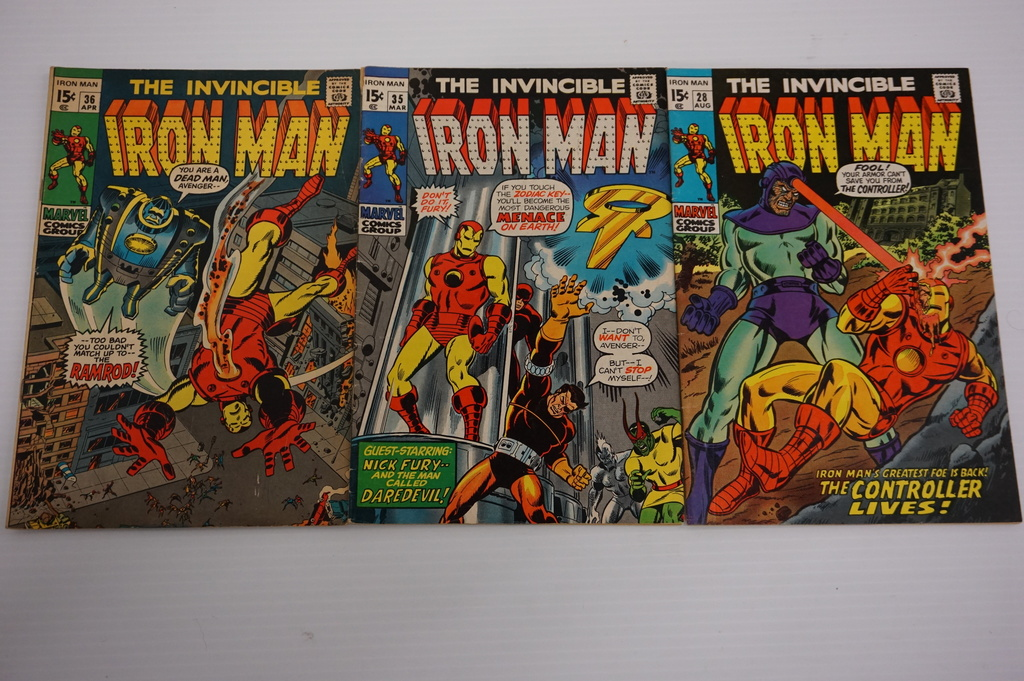 (3) IRON MAN (1970-71)