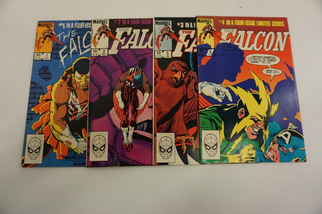 (4) FALCON LIMITED SERIES COMIC BOOKS (1983)