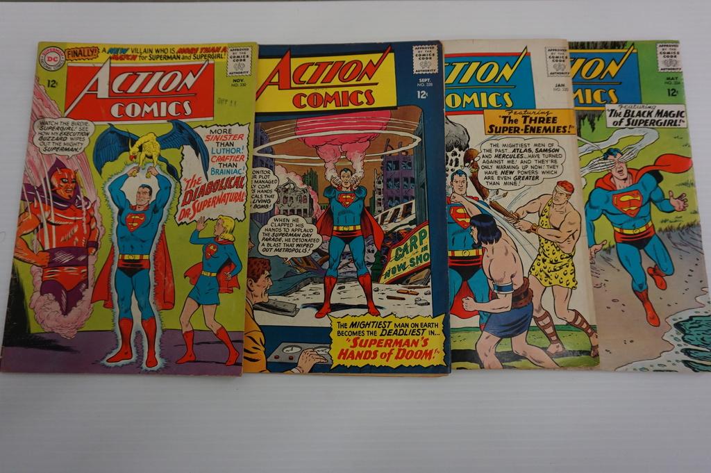 (4) ACTION COMICS(1965)