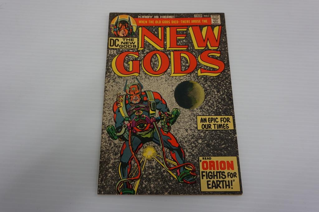 NEW GODS #1 (1971)