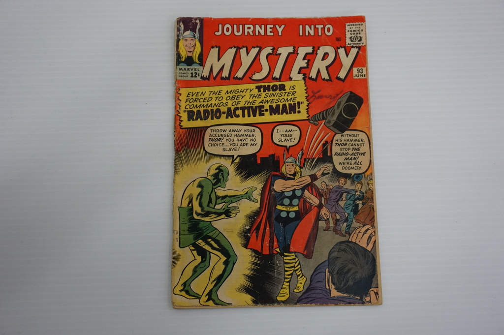 JOURNEY INTO MYSTERY #93 (1963)