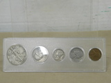 1939 COIN SET IN PLASTIC DISPLAY
