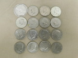 (16) KENNEDY HALF DOLLARS