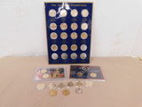 (30) ASSORTED PRESIDENTIAL $1 COINS & 2007 U.S. MINT PRESIDENTIAL PROOF SET