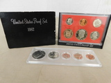 1982 U.S. PROOF SET & 1973 COIN SET