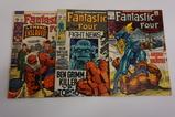 (3) FANTASTIC FOUR SILVER AGE COMIC BOOKS