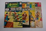 (4) GOLDEN AGE ACTION COMIC BOOKS