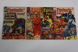 (4) FANTASTIC FOUR SILVER AGE COMIC BOOKS