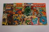 (4) FANTASTIC FOUR COMIC BOOKS (1967-71)