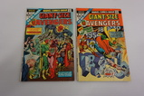 (2) GIANT SIZE  AVENGERS COMIC BOOKS (1974)