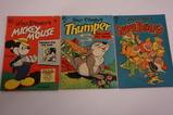 (3) DELL FOUR COLOR COMIC BOOKS(1949)