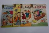 (4) GOLD KEY FLINTSTONES COMIC BOOKS(1965)