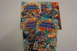 (5) DC COMIC BOOKS SUPER POWERS MINI SERIES