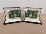 (2) 1966 COIN SETS - NO MINT MARKS