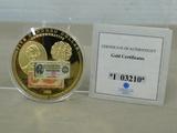 1922 $500 COMMEMORATIVE LINCOLN COIN