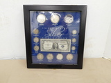 FRAMED UNITD STATES SILVER COLLECTION