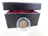 1864 2 CENT PIECE IN LIGHTED DISPLAY BOX