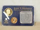 JOHN F. KENNEDY 50TH ANNIVERSARY COIN SET