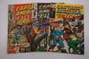 (3) CAPTAIN AMERICA AND FALCON COMIC BOOKS(1971)