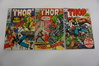 (3) MIGHTY THOR SILVER AGE COMIC BOOKS (1970)