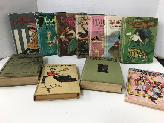 (11) ASSORTED VINTAGE CHILDREN'S BOOKS