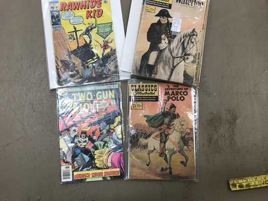 (8) ASSORTED VINTAGE COMIC BOOKS