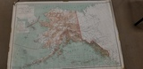 1935 MAP OF ALASKA