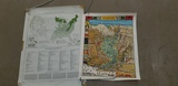 1938 FOREST SERVICE REGIONAL MAP & COLORFUL YOSEMITE PARK MAP